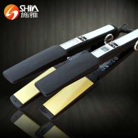Best Ceramic coating Hair Flat Iron Straightener LED and LCD Display Black SY-002 wholesale