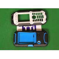 Cheap Hot runner 2 cavities Phone Covers Over Molding PC + TPU Material wholesale