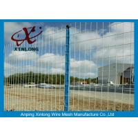 Best Green Pvc Coated Wire Mesh Fencing For Garden OEM Acceptable XLF-07 wholesale