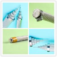 Cheap 4 0 Awg Wire Aluminum Electrical Conductor , 556.5 MCM Bare Overhead Conductors for sale