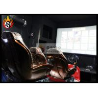 Best Virtual Simulation System 4D Movie Theatre , High Definition 4D Theater wholesale