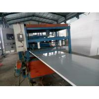 Best Customized Color Sandwich Panel Machine Full Automatic Type Good Condition wholesale