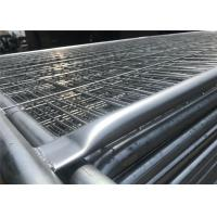 Best 2.1m highx2.4m wide  second hand  steel temporary fencing panel wholesale