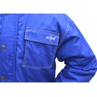 Best Customized Coverall Work Clothes , Polyester Mens Colored Overalls wholesale