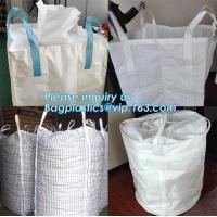 chinese supplier 1000kg rice flour woven bag pp big bag packing the GARBAGE sand