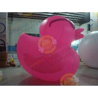 Best Floating Inflatable Duck 6m Outdoor Advertising Digital Printing wholesale