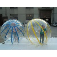 Best 2m inflatable water ball with colorful strip wholesale