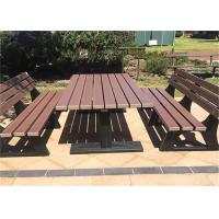 Best High Density Wood Plastic Composite Outdoor LeisureFurniture Sets wholesale