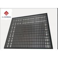 Best 3 Layer 304 Stainless Steel Rock Shaker Screen For Mud Separation wholesale