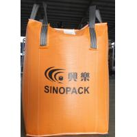 Best Orange 500kg big bag FIBC with filler cords , Large FIBC Jumbo Bag wholesale