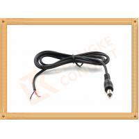 Best DC 5.5X2.1 mm Power Custom Cable Assembly Red and Black with Male Connector wholesale