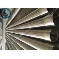 Best SS Johnson Wire Screen Tube / Welded Wedge Wire Screen ISO Listed wholesale