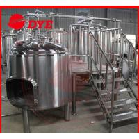 Best 1500L Commercial Beer Brewing Equipment With Spray Ball Cleaning System wholesale
