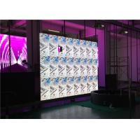 Best 4mm Indoor LED Advertising Screen HD LED Video Wall Display Sign For Restaurants wholesale
