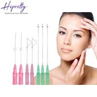Best Skin care medical face lifting pdo thread needle Screw/Single/3D-COG thread wholesale