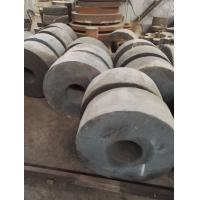 Steam Turbine Carbon Steel Forging Disk Forging Used In Heavy Machinery Max Weight 20 Tons Dia 300 - 1300 mm