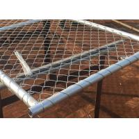 Best Hot Galvanized Chain Link Fence Gate / Wire Farm Gates Anti - Corrosion High Strength wholesale