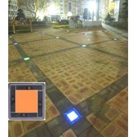 Buy cheap New Design Wooden Solar Floor Tiles With LED from wholesalers