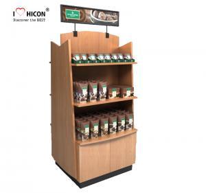 Best Wood Display Stand Double Way Wood Handmade Merchandising Chocolate Display Rack wholesale