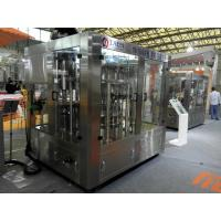 China Carbonated Drink Brewery Bottling Equipment Monoblock  Machine 1000Bph - 2000Bph on sale