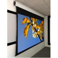 Details of 92 projection screen tab tensioned motorized for Tab tensioned motorized projection screen