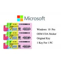 Best 100% Genuine Windows 10 Product Key Full Version Online Activate Multi Language wholesale