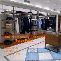 Best Custom Made Wooden Clothing Store Showcase wholesale