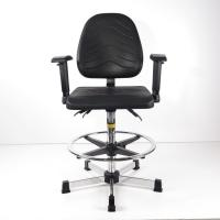 Best Durable PU Foaming ESD Task Chair Height Adjustable Seat And Back Tilt Adjustment wholesale