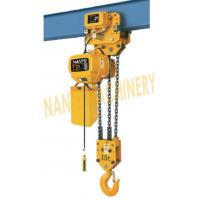 Best HHBB Series Electric Chain Hoist - Capacity of 7.5T for Single / Double Speed wholesale