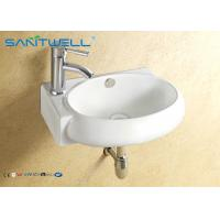 Best Cupboard art wall hung basin above counter mounting for bathroom or public wholesale