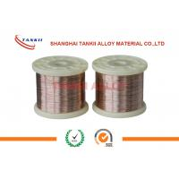 Best Cuni 10 Copper Nickel Alloy Wire Heating Resistant Electric Wire For Winding Coils wholesale