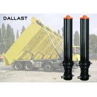 Buy cheap 3 4 5 Stage Hydraulic Cylinder , Single Acting Telescopic Cylinder Lifting from wholesalers