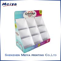 Best CMYK Glossy lamination Counter Top Display Stands for note books and cards wholesale