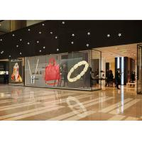 Best P3.91mm P7.8mm Transparent LED Screen Indoor Glass LED Screen Glass LED Video Wall wholesale