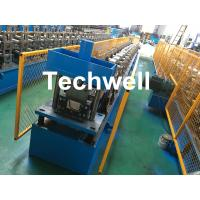Best Steel Metal Gutter Roll Forming Machine For Making Rainwater Gutter & Box Gutter With PLC Frequency Control wholesale