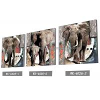 Cheap Frameless PET 3d Lenticular Image / Animal 3d Lenticular Christmas Cards For Decoration for sale