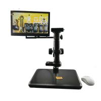 China HDMI and VGA output monocular lcd screen video microscope,lcd video microscope.lcd digital microscope on sale