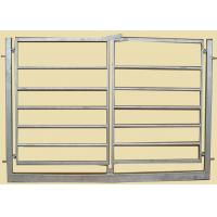 Best Square Tube 40MM Corral Yard Farm Panel With Gate 2.1 X2.3 Meter  For Farm wholesale