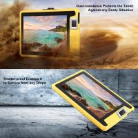 China Unlocked 10 Inch NFC Fingerprint IP66 Waterproof Android 4G Rugged Tablet PC on sale