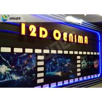 Best SGS Dynamic 12D Cinema XD Simulator With 3 DOF Chairs / Motion Chair System wholesale