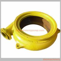 Best Customized Gravel Suction Pump With Rubber Liners / High Chrome Alloy Liner wholesale