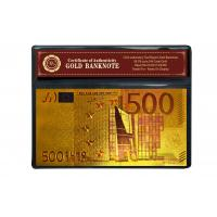 Buy cheap Christmas Ornament Colorful 24K Gold Foil Banknote from wholesalers