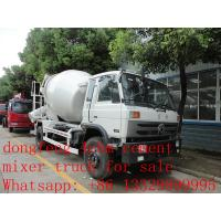 Best cheapest price of dongfeng 4cbm 190hp concrete mixer truck for sale wholesale