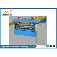 Best PLC Control Corrugated Roof Sheet Making Machine 10-16m/min 20 Roller Stations wholesale