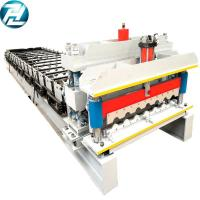 China Servo Motor Drive Roof Tile Roll Forming Machine 32mpa Yield Strength on sale