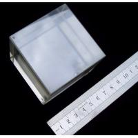 Best 10x10 mmt Tellurium Oxide TeO2 Crystals , Crystal Wafer Substrate TeO2 wholesale