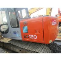 Best EX120 2 12 Tonne Second Hand Hitachi Excavator 81 Hp Net Power With 4 Cylinders wholesale