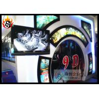 Best Popular 6D Movie Theater with Hydraulic 6D Simulator , 6D Cinema wholesale