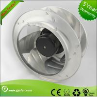 Best Filtering FFU AC Centrifugal Fan With Backward Curved Motorized Impeller wholesale