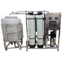 Best 500lph RO Water Treatment System With Storage Tank / UV / Ozone Well Water Treatment Machine wholesale
